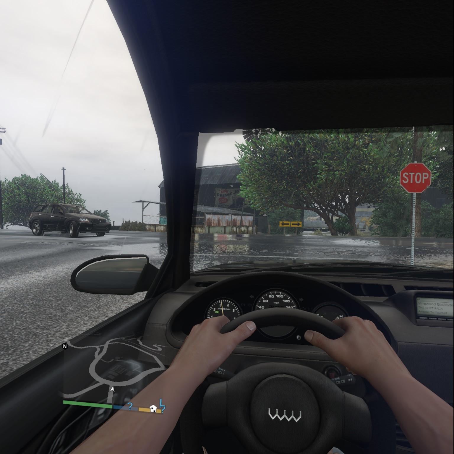 GTA V in VR